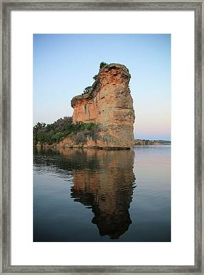 Hell's Gate 1 Framed Print