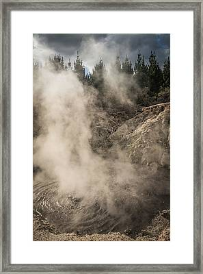 Hells Gate Framed Print
