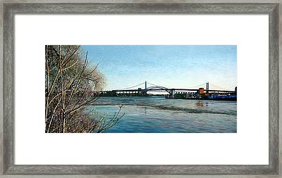 Hell's Gate Framed Print by Randy Ford