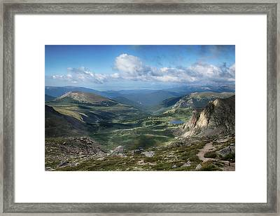 Helms Lake Valley 2 Framed Print