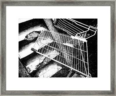 Help, I've Fallen And Can't Get Up Framed Print