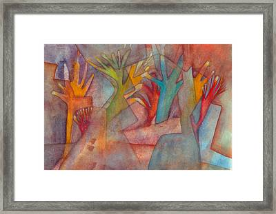 Helping Hands Framed Print by Suzy Norris