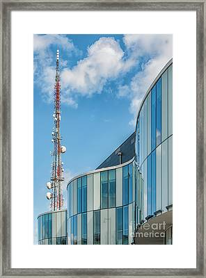 Framed Print featuring the photograph Helsingborg Arena Concert Hall by Antony McAulay