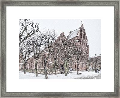 Helsingborg Sankta Maria Kyrka Framed Print