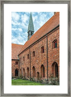 Framed Print featuring the photograph Helsingor Saint Mary Church by Antony McAulay