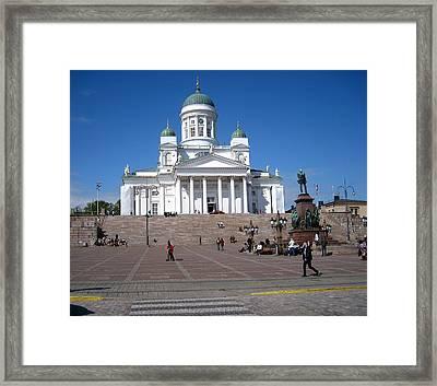 Helsinki Finland-1 Framed Print by Yury Bashkin
