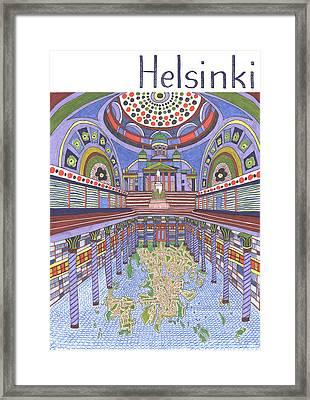 Helsinki Framed Print