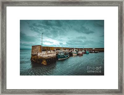 Helvick Harbour 2 Framed Print