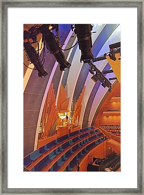Helzberg Hall #3 Framed Print
