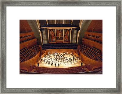 Helzberg Hall Framed Print