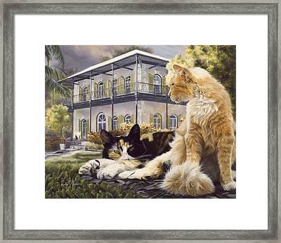 Hemingway House Framed Print