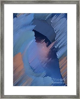 Hemisphere Framed Print