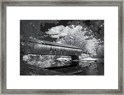 Hemlock Covered Bridge Framed Print by James Walsh