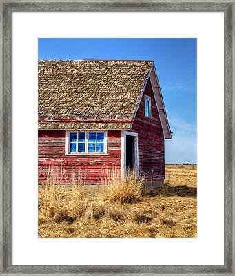Hen House -1 Framed Print by Nikolyn McDonald