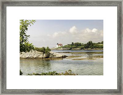 Hendricks Head Lighthouse Framed Print
