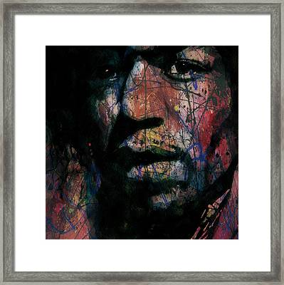Hendrix Purple Haze  Framed Print