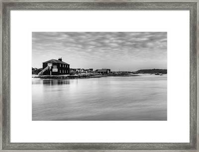 Hengistbury Huts Framed Print