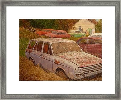 Henley Otago Nz Framed Print