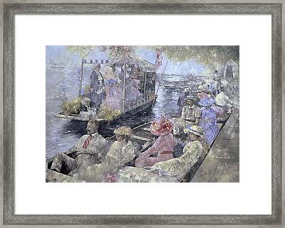 Henley Regatta Framed Print by Peter Miller