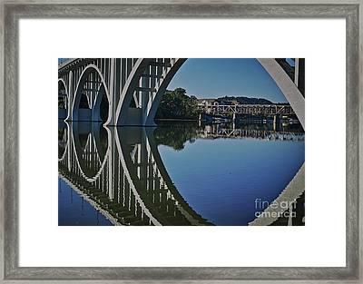 Henley Street Bridge Framed Print