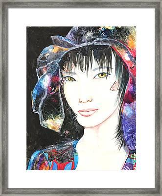 Henna Framed Print