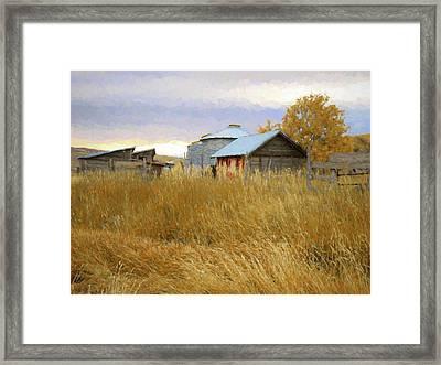 Hennefer Autumn Framed Print by David King