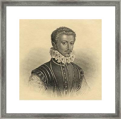 Henri De Guise, Henri I De Lorraine Framed Print by Vintage Design Pics