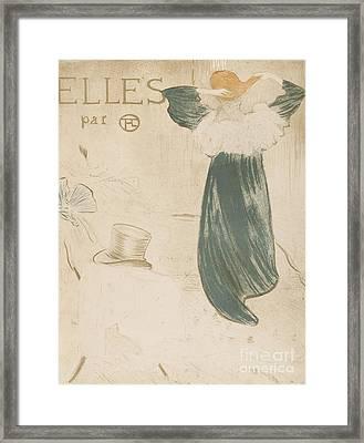 Henri De Toulouse Lautrec  Framed Print by MotionAge Designs