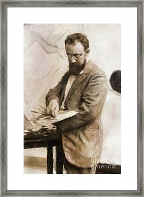 Henri Matisse, Artist By Mary Bassett Framed Print