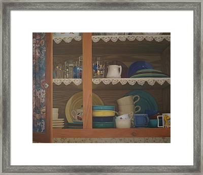 Henrietta's Cupboard Framed Print