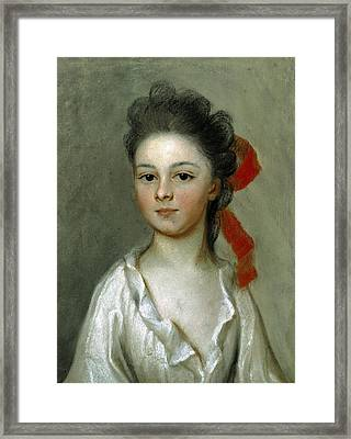 Henriette Charlotte Chastaigner. Mrs. Nathaniel Broughton Framed Print