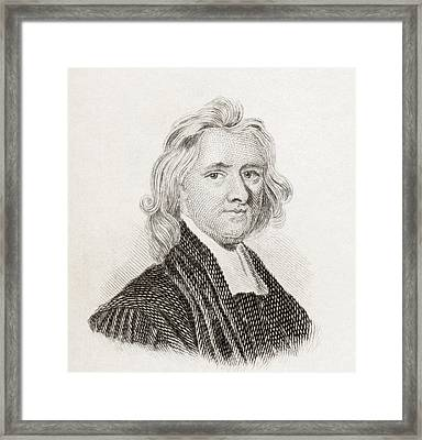 Henry Aldrich, 1647 To 1710. English Framed Print by Vintage Design Pics