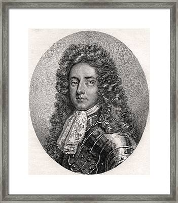 Henry Booth 1st Earl Of Warrington Lord Framed Print by Vintage Design Pics