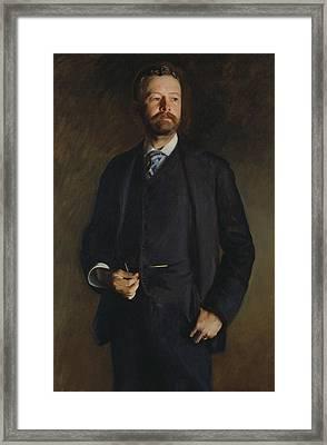 Henry Cabot Lodge Framed Print by John Singer Sargent