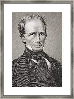 Henry Clay 1777 - 1852. American Framed Print