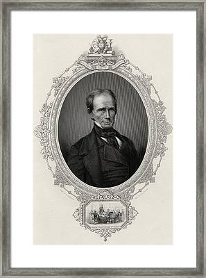 Henry Clay 1777-1852 American Statesman Framed Print