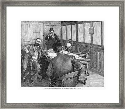 Henry Clay Frick  (1849-1919) Framed Print by Granger