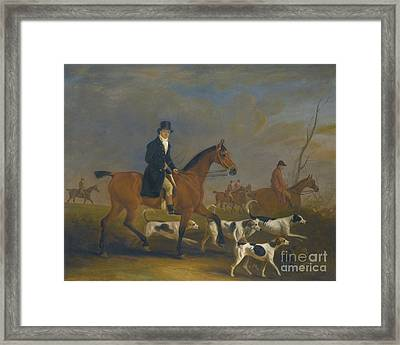 Henry Combe Compton Framed Print by MotionAge Designs