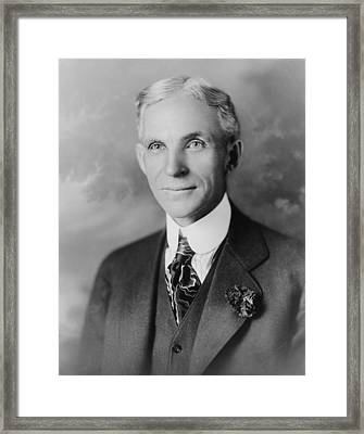Henry Ford 1963-1947, Founder Of Ford Framed Print