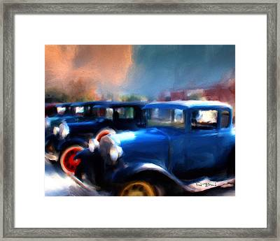 Henry Ford Weekend  2 Framed Print by Fred Baird