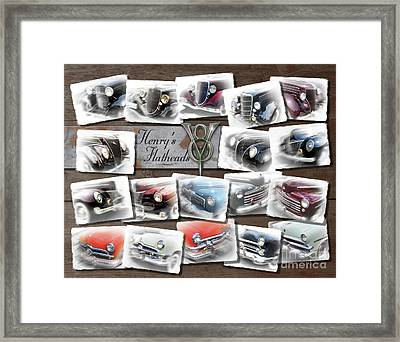 Henry Ford's Flathead V-8s Framed Print by Ron Long
