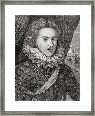Henry Frederick, Prince Of Wales, 1594 Framed Print by Vintage Design Pics