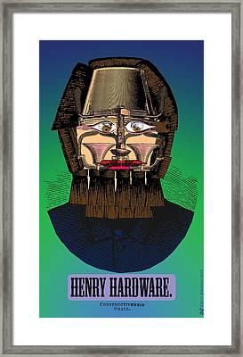Henry Hardware Framed Print