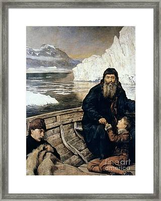 Henry Hudson And Son Framed Print by Granger