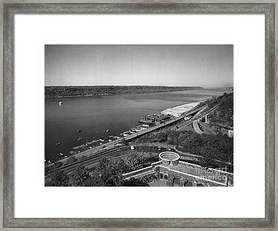Framed Print featuring the photograph Henry Hudson Parkway, 1936 by Cole Thompson