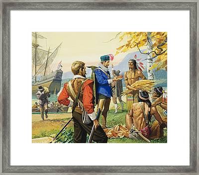 Henry Hudson Framed Print by Severino Baraldi