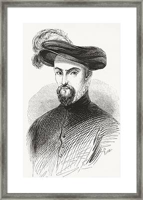 Henry I, Prince Of Joinville, Duke Framed Print by Vintage Design Pics