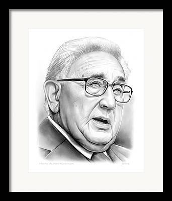 Kissinger Framed Prints