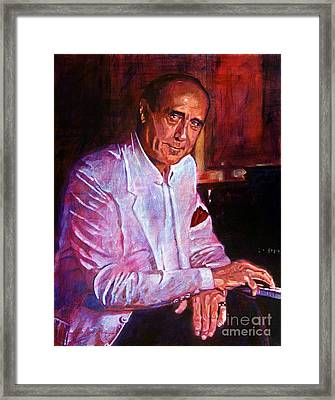 Henry Mancini Framed Print by David Lloyd Glover
