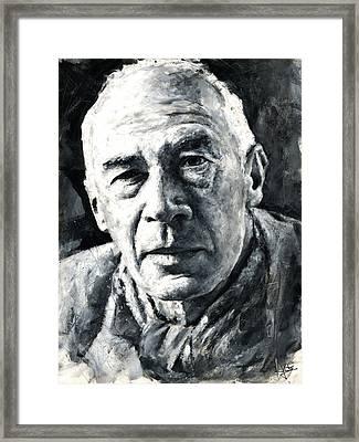 Henry Miller Framed Print